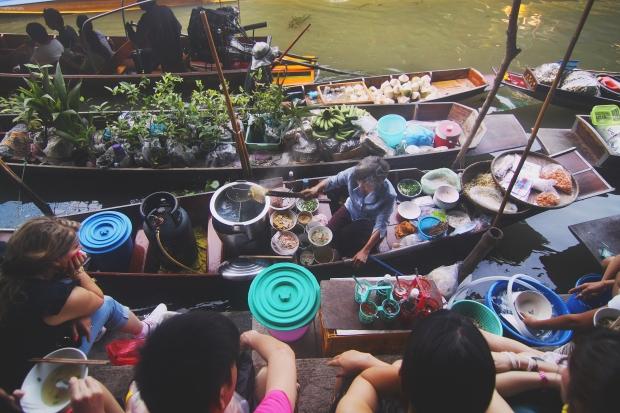Los mercados flotantes de Tailandia