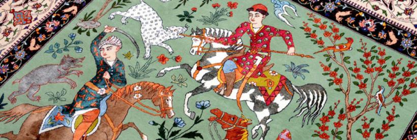 Las alfombras persas : historia, prestigio y tradicion - 20 Minutos por dia