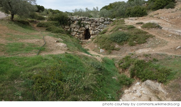 Arkadiko_Mycenaean_Bridge