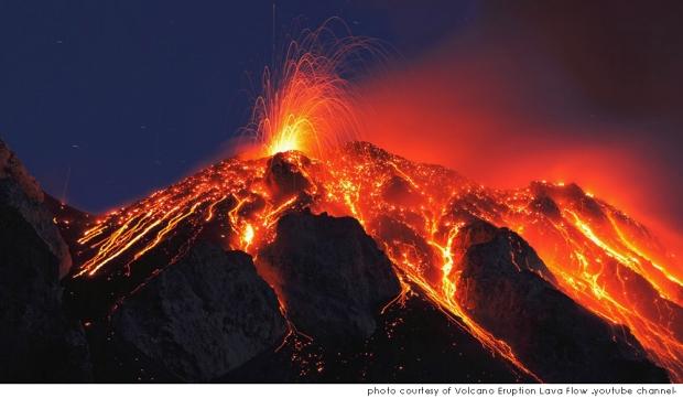 Gracias a las erupciones volcánicas, tenemos maravillas en la tierra como la isla de Hawaii - más en www.20minutospordia.com