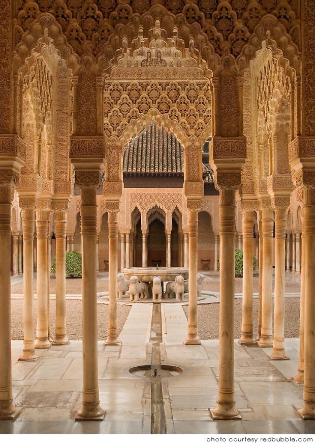La influencia árabe en el occidente- Palacio de Alhambra