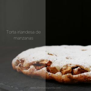 20 Minutos por día Sabores- Torta irlandesa de manzana