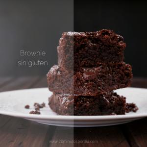20 Minutos por día Sabores- Brownie sin gluten