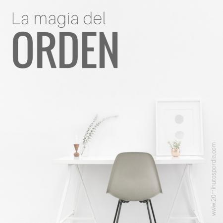 La magia del orden, de Marie Kondo- 20 minutos por día