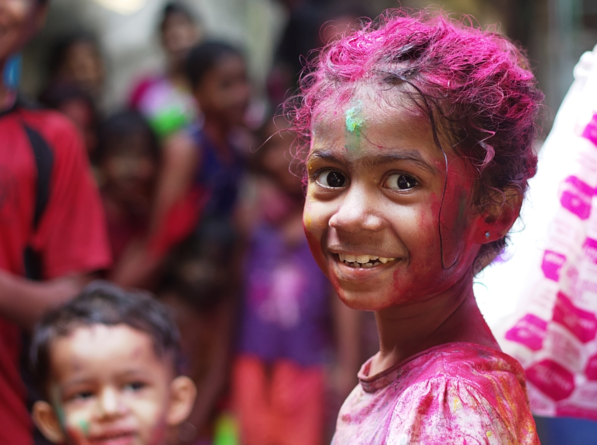 India de colores : Festival Holi